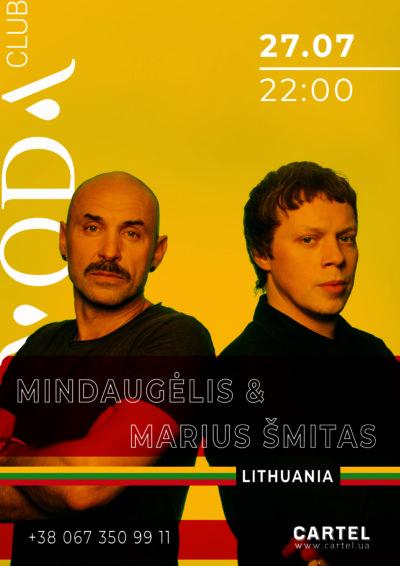 July 27 Mindaugėlis & Marius Šmitas (Lithuania) in  VODA club
